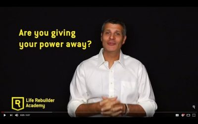 Are You Giving Your Power Away?